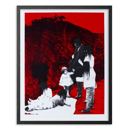 Ciler Art Print - Mala Influencia - Red Edition