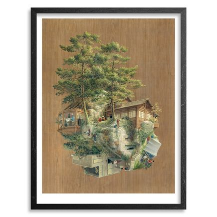 Cinta Vidal Art Print - Japanese Rock - 24 x 36 Inch Edition