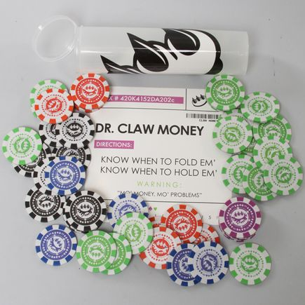 Claw Money Art - Poker Chip Set