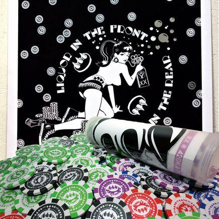 Claw Money Art Print - Poker In The Rear