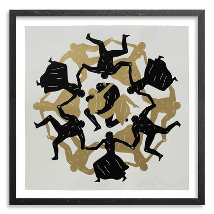 Cleon Peterson Art Print - Endless Sleep (White)