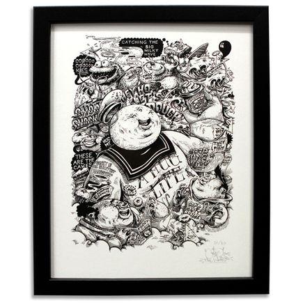 Cone Art - Sucreries En Masse - Black and White Edition
