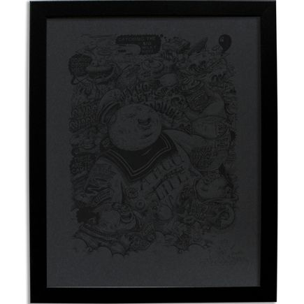 Cone Art - Sucreries En Masse - Black On Black Edition