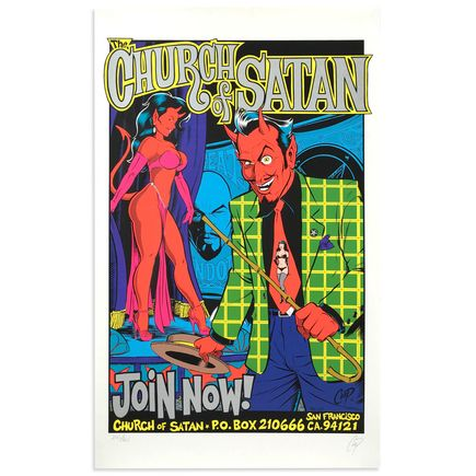 Coop Art - Church Of Satan - Silver