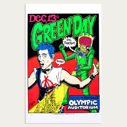 Coop Art - Green Day - Dec. 13th, 1995 at The Olympic Auditorium