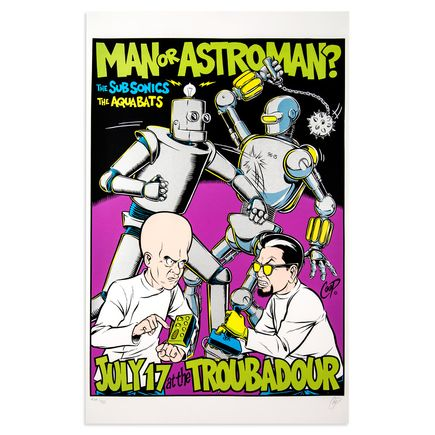 Coop Art - Man Or Astroman - July 17th, 1996 at The Troubadour