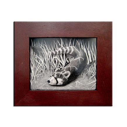 Craig Tapecat McCudden Original Art - Red Panda