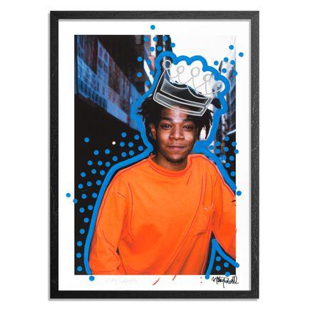 Crash Art Print -  Jean-Michel Basquait. Bond Street. New York City. 1988. - Crash Remix - Standard Edition