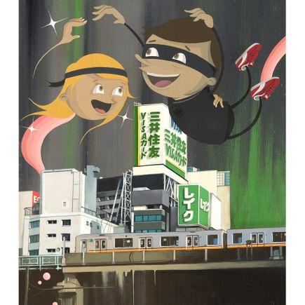 Dabs Myla Art Print - Tokyo Deluxe