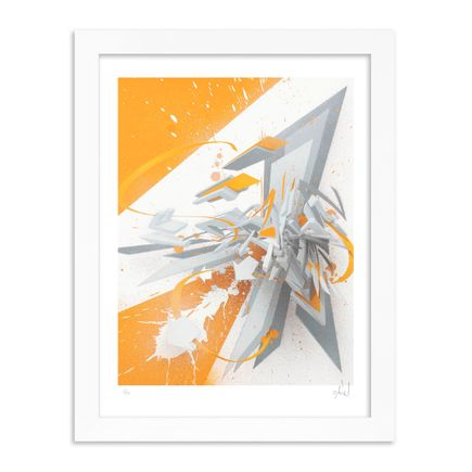 DAIM Art Print - DAIMaround - Dynamic Splash In Orange