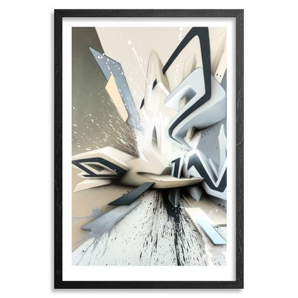 DAIM Art Print - $?III + Mirko Reisser (DAIM) - Print/Book Combo