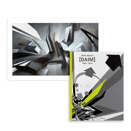 DAIM Art Print - DAIMwave - Shining Backlight + Book Set