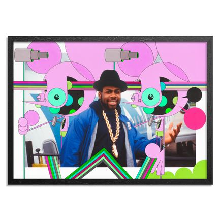 Dalek Art Print - Jam Master Jay - Together Forever Tour. Germany. 1987 - Dalek Variant II