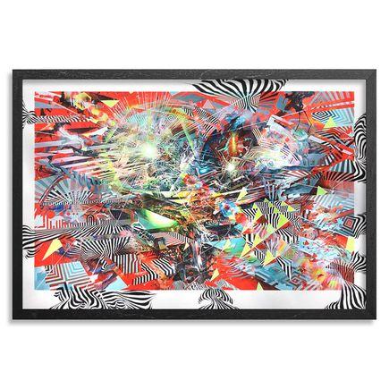 Damon Soule Art Print - Sirius B - Hand-Embellished Prints