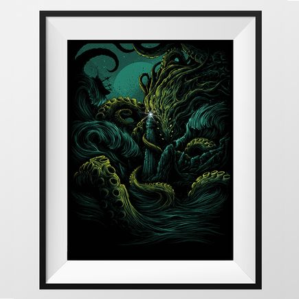 Dan Mumford Art - The Furthest Depths - Kelp Edition
