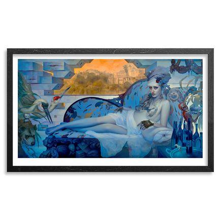 Dan Quintana Art - Cozen Den - Framed