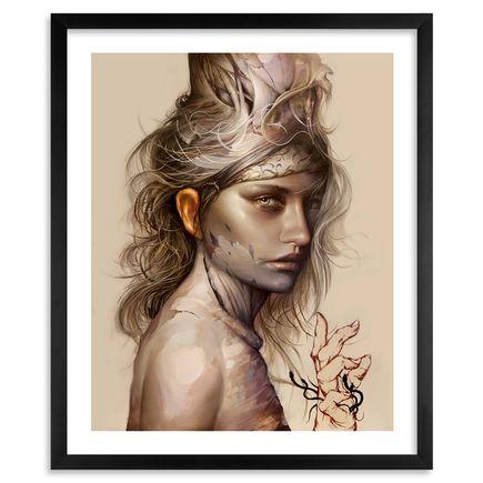 Dan Quintana Art - Spectre 3 - Framed