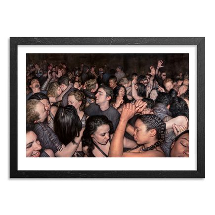 Dan Witz Art Print - I Feel - 20 x 14 Inch Edition
