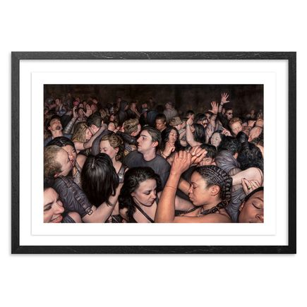 Dan Witz Art Print - I Feel - 36 x 24 Inch Edition