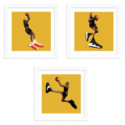 Darien Birks Art Print - 3-Print Set - Catch A Fade + Pip + The Glue