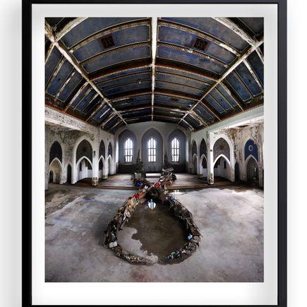 Revok + Jim Darling Art Print - Sunday Mass