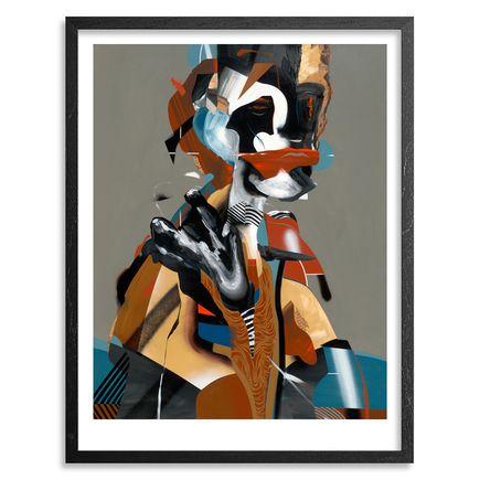 Dave Kinsey Art Print - Kunta Kinte - Framed
