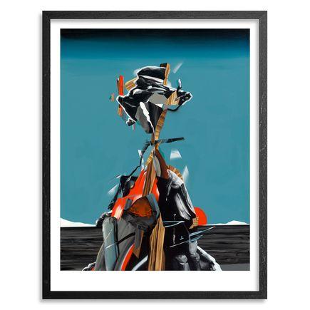 Dave Kinsey Art - Tonic Blue