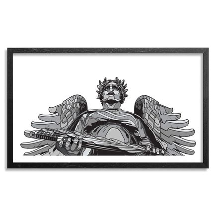 David Flores Art Print - City Of Angels