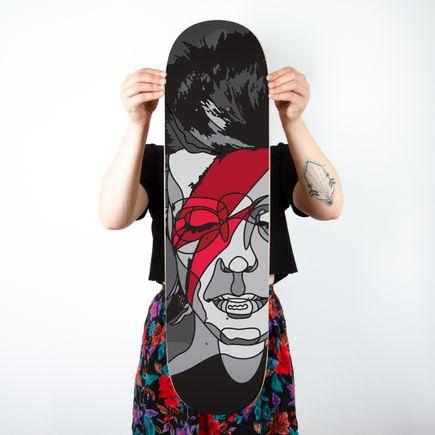 David Flores Art Print - Lazarus - Skate Day Variant