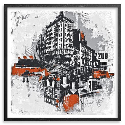 David Soukup Art - Metropolis 2 - Framed