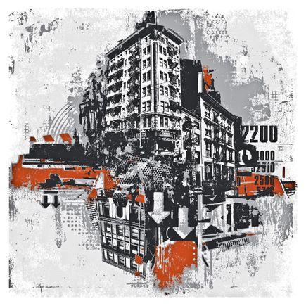 David Soukup Art - Metropolis 2 & 3 - Two Print Combo