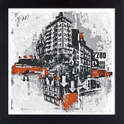 David Soukup Art - Metropolis 2 & 3 - Two Print Combo (High End Numbered Edition)