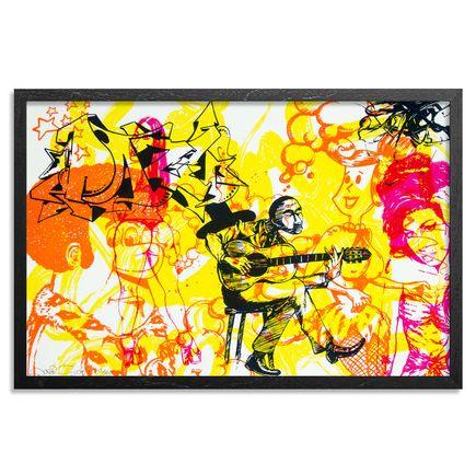 Daze Art Print - Banjo
