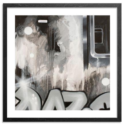 Daze Art Print - Fragmented Steel - Hand-Embellished Edition