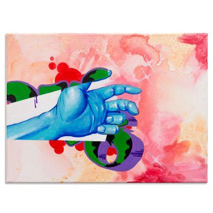 Daze Original Art - Reach For The Future