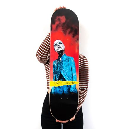 Dee Dee Art Print - Please Allow Me To Introduce Myself - Skate Deck Variant