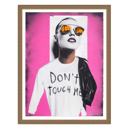 Dee Dee Art Print - Don't Touch Me - Pink Variant