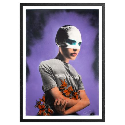 Dee Dee Art Print - Killing Machine - Violet Smoke