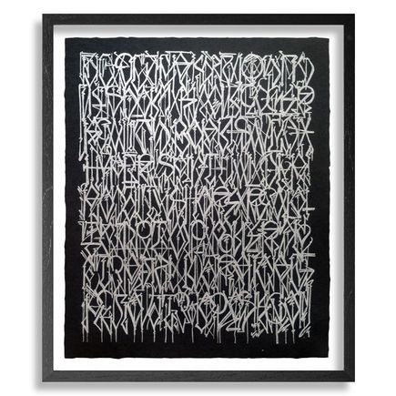 Defer Art - Esoteric Alphabet - Black Edition