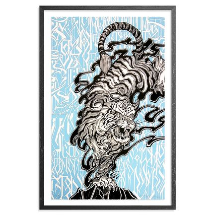 Defer Art Print - Treading On A Tiger's Tail