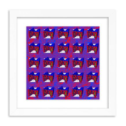 J Demsky Art Print - Untitled Simulator Interface I - Blotter Edition