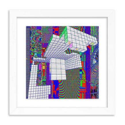 J Demsky Art Print - Untitled Simulator Interface II - Blotter Edition
