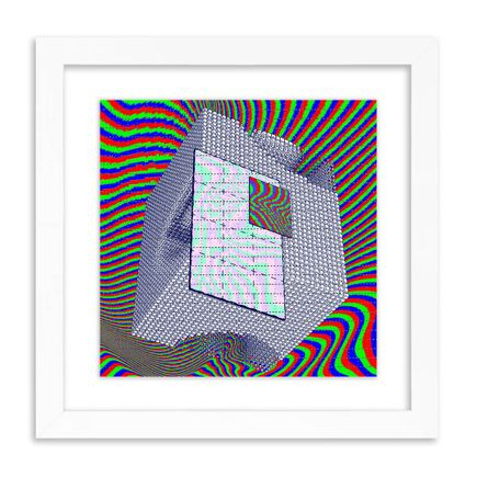 J Demsky Art Print - Untitled Simulator Interface III - Blotter Edition