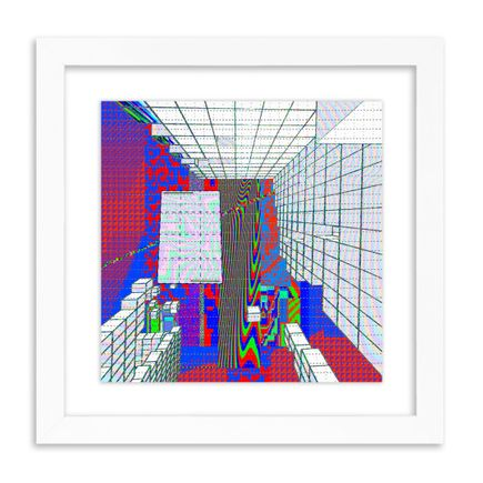 J Demsky Art Print - Untitled Simulator Interface IV - Blotter Edition