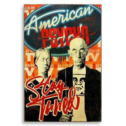 Denial Original Art - American Psycho