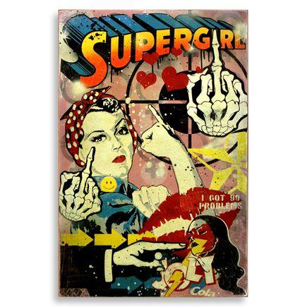 Denial Original Art - Supergirls