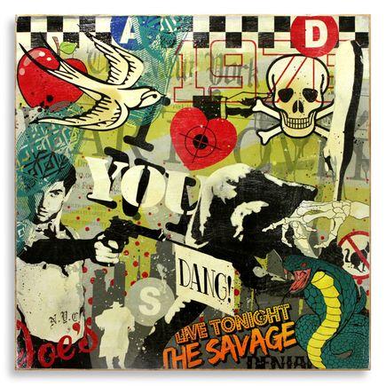 Denial Original Art - I Love New York