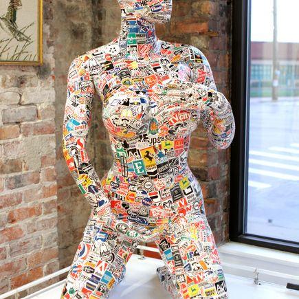 Denial Original Art - Mannequin 2