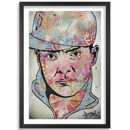Ben Frost, Denial, DJ Qbert Art Print - DJ Qbert