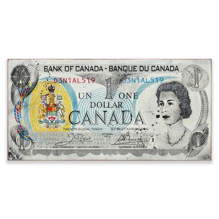 Denial Art - Canadian Dollar